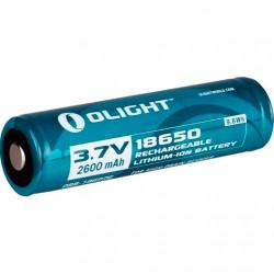 OLIGHT PILA RECARGABLE 18650 2600 mAh CON PCB
